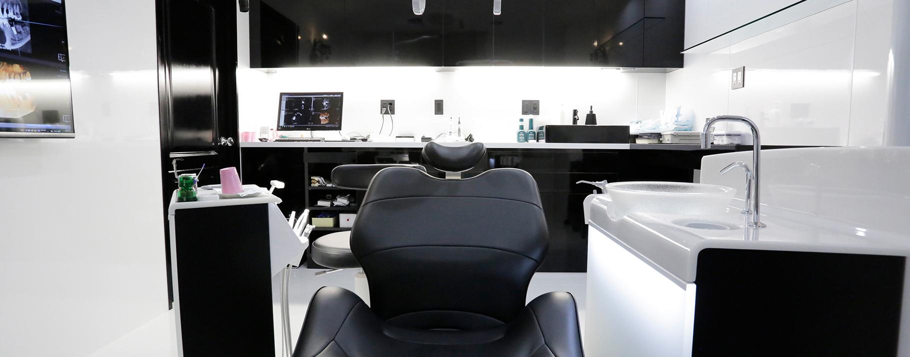 横浜の矯正歯科、横浜マウスピース矯正歯科、施術室